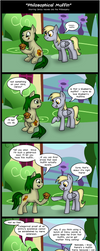 Philosophical Muffin by PhilosophyPony