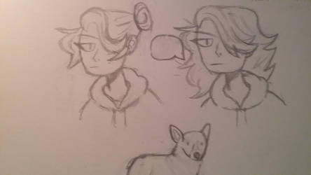 rough sketche  by williamlog16
