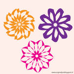 Free Flower Vector bundle_03 by orginaljun