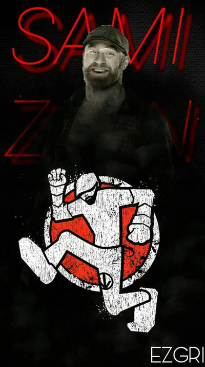 Sami Zayn Wallpaper 2016 By Ezgri On Deviantart