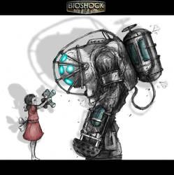 BIOSHOCK FAN ART by Jaruzel