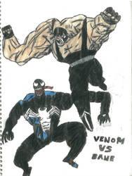 Venom Vs Bane by thorman