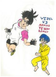 Videl Vs Akane Tendo round 2 by thorman