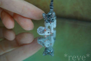 New Friends! ~ * Handmade Miniature Sculptures * by ReveMiniatures