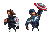 Captain america and winter soldier by wonman321
