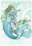 mermaid by rerekina