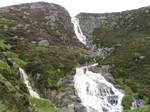 Scotland Waterfall by klemmkeil-stock