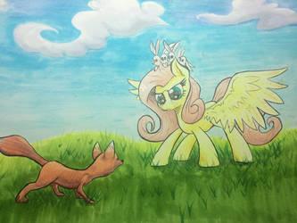 Flutterhorse by kittyhawk-contrail