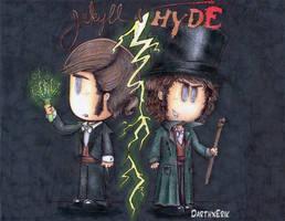 Jekyll and Hyde by DarthxErik
