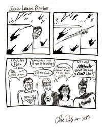 Justice League Paintball by Ofelan