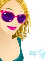 Emily's purttypink sunglasses by ivorydealer
