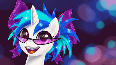 Young Vinyl Scratch By Kp Shadowsquirrel-d5ilx by TheDragoncz
