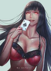 Jabami Yumeko by Unfairr