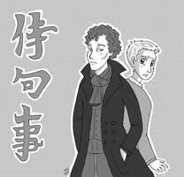 Anime Sherlock by Christy-off