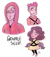 Grapple Seed doodles by Christy-off