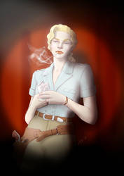 Lena Shepard by duVallonFecit