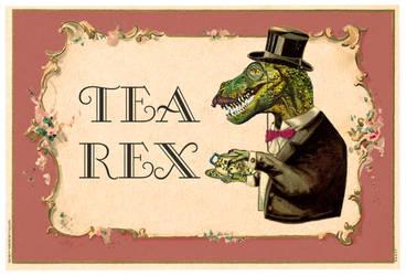 Tea-rex by duVallonFecit
