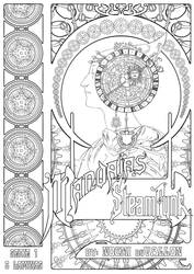 Coloring Book Cover by duVallonFecit