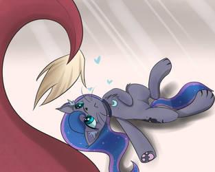 Fluffy temptation by Lyra-senpai