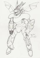 The Mecha Sketchbook - 6 by PlasmaFire3000