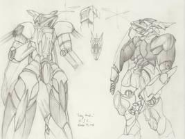 The Mecha Sketchbook - 14 by PlasmaFire3000