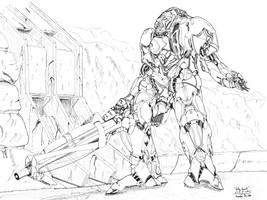 Valley Guard by PlasmaFire3000