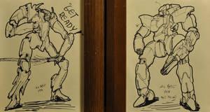 Setsucon 2010 Pre-Con Sketches by PlasmaFire3000