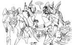The Mecha Sketchbook - 32 by PlasmaFire3000