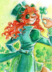Green is for Happiness by Sushili