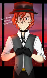 Happy Birthday Chuuya Nakahara by MORTALIX