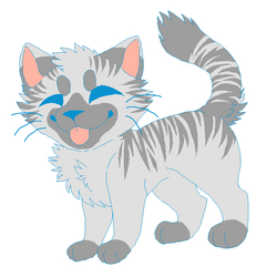 Smol Kitten Adoptable (CLOSED) by Partyfurries