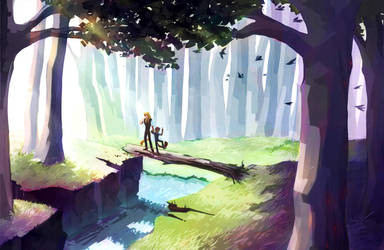 AW Explore: Out of the Woods and Into the Light by Galantines