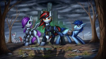 Fallout Equestria: Project Horizons Volume 1 by Setharu