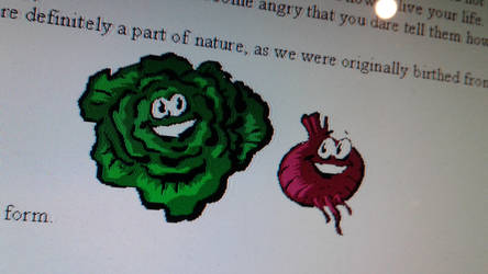 Cabbage and Beet Microsoft Word Clip Art by YeetYeetSkeet