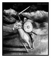 Ride to Gondor by Jon-Snow
