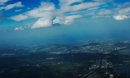 Above Tallinn by trumpikas
