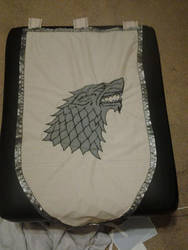 Stark Wall Banner by BeCOSyouPLAY