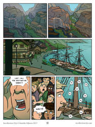 Recollection City page 51 - The boat to Narrati by HenrikeDijkstra