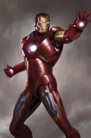 Iron Man by megurobonin