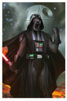 Darth Vader by megurobonin