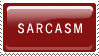 Sarcasm by Claire-stamps