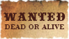Wanted dead or alive by Claire-stamps