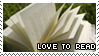 Love to read by Claire-stamps