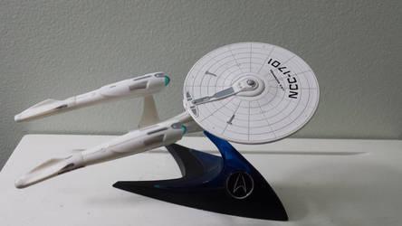 NCC-1701 Star Trek Alternate Timeline by WozNick