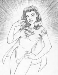 2013 0110 Illustration SuperGirl by martinpinedo