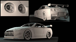 Nissan GTR RC Exterior WIP7 by lietuvis2008