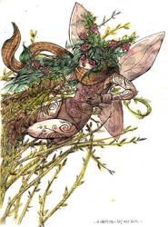 Ptirat the fairy by laredcarpette