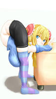 arly's backbend (color ver.) by akihiro