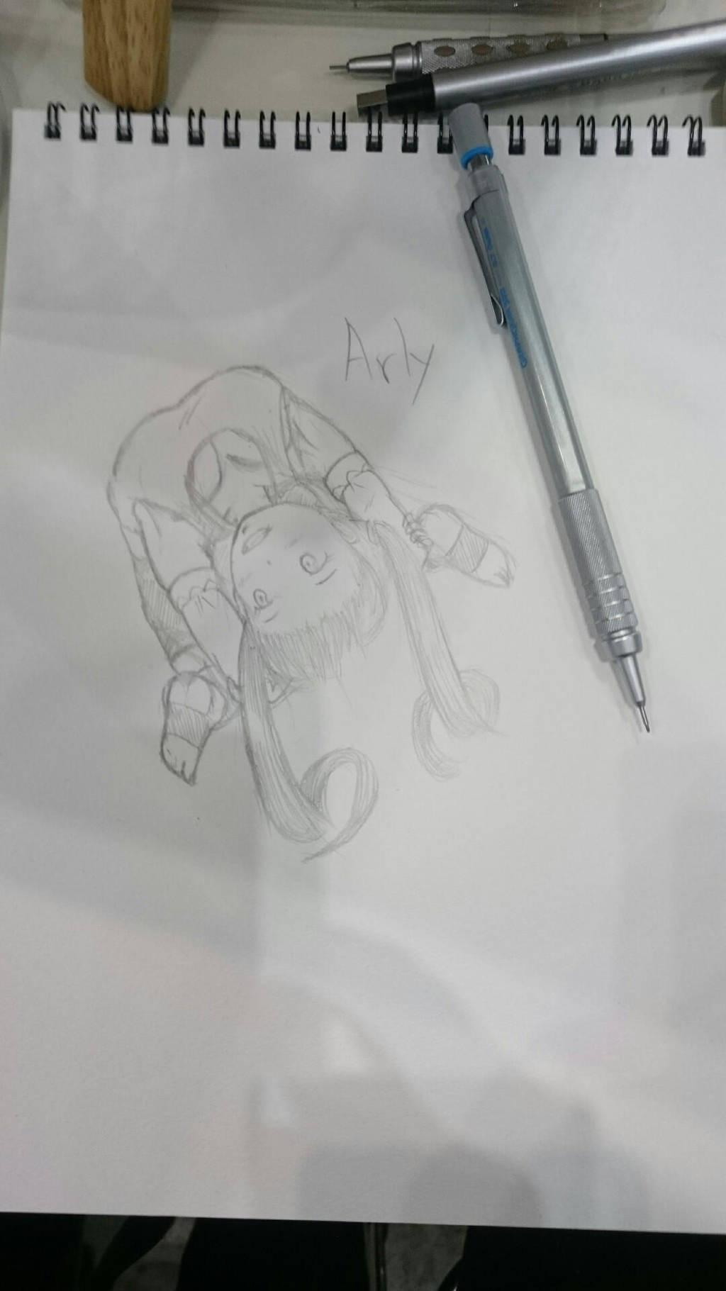 mechanical pencil painting by akihiro