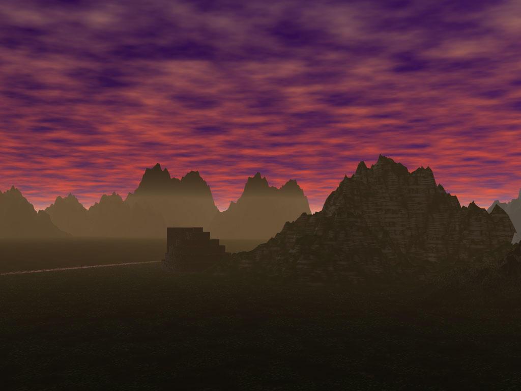 Minas Tirith by DRayKenobi